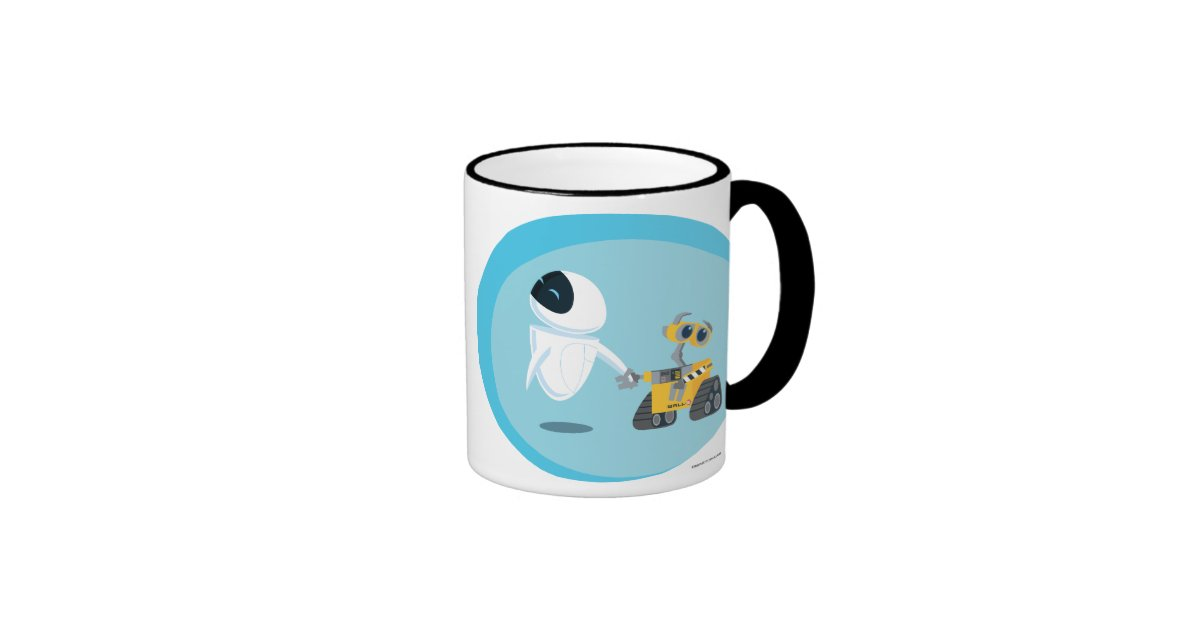 Eva And Wall E Ringer Coffee Mug Zazzle