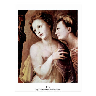 Eva By Domenico Beccafumi Postcard