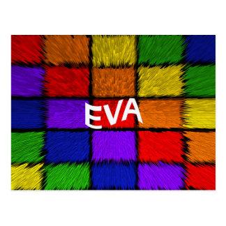 EVA POSTCARD