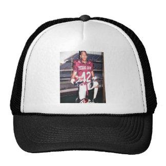 Evan in Texas A & M uniform Trucker Hat