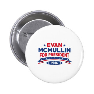 Evan McMullin For President 2 Inch Round Button
