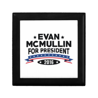 Evan McMullin For President Keepsake Box