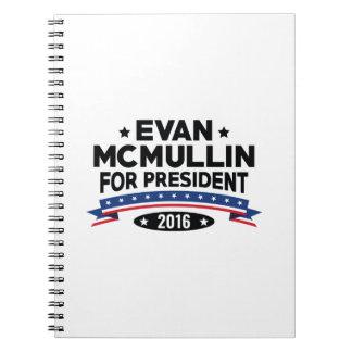 Evan McMullin For President Note Books