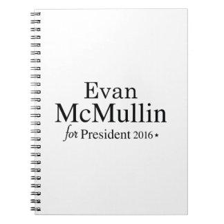 Evan McMullin For President Notebooks