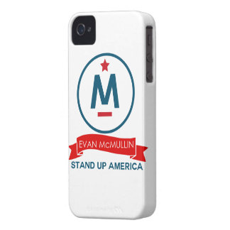 Evan McMullin - Stand up America! Case-Mate iPhone 4 Cases