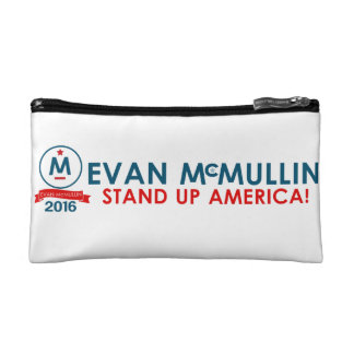 Evan McMullin - Stand up America! Makeup Bags