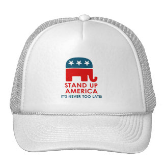 Evan McMullin - Stand up America! Trucker Hat