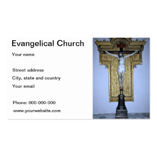 Evangelical card business card