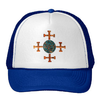 Evangelical-Topaz Trucker Hat