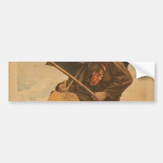 Evangeline, 'Lone Fisherman' Vintage Theater Bumper Sticker