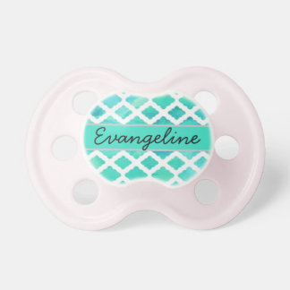 """""""Evangeline"""" Personalized Name Pacifier"""