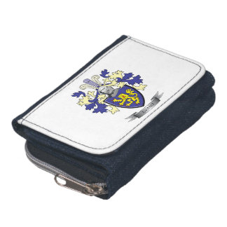 Evans Family Crest Coat of Arms Wallets