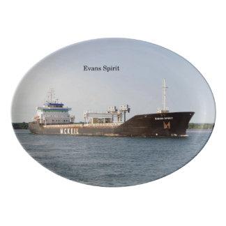 Evans Spirit platter