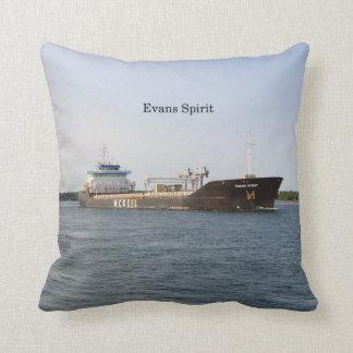 Evans Spirit square pillow
