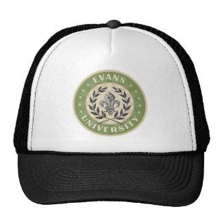 Evans University Military Green Trucker Hat