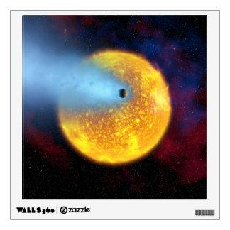 Evaporating Planet Wall Sticker