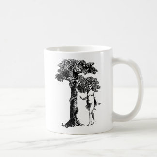 Eve and the Serpent Basic White Mug