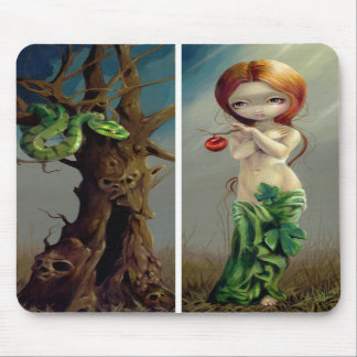 """Eve and the Tree of Knowledge"" Mousepad"