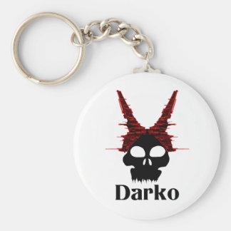 Eve Evil Bunny Tornado Darko Basic Round Button Keychain