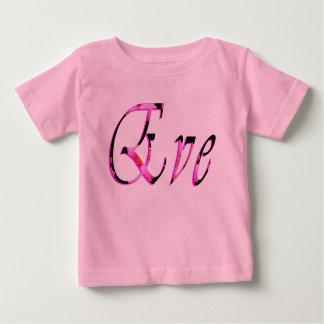 Eve Girls Name Logo, Baby T-Shirt