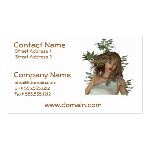Eve in Eden Business Cards