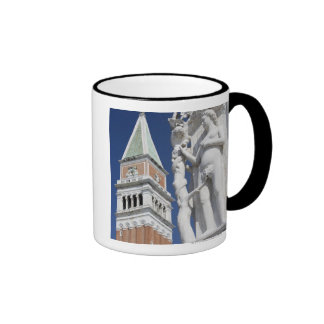 Eve in Garden of Eden Doges' Palace with Ringer Coffee Mug
