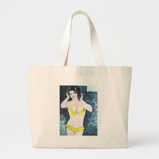 Eve_in_Paradise Canvas Bags