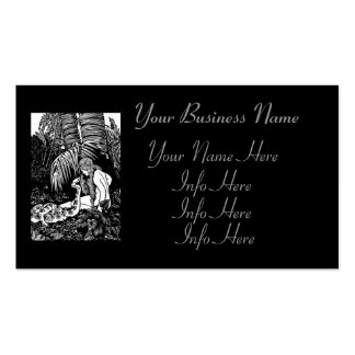 Eve In The Garden Pack Of Standard Business Cards