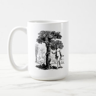 Eve In The Garden Of Eden Basic White Mug