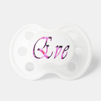 Eve, Name, Logo, Baby Girls 0-6 months Pacifier