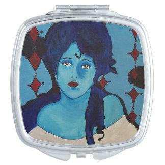 Evelyn Blue Vanity Mirrors