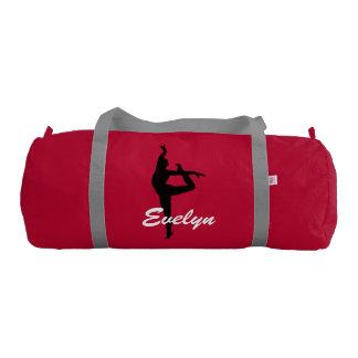 Evelyn custom duffle gym dance bag