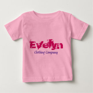 Evelyn Name Clothing Company Baby Shirts