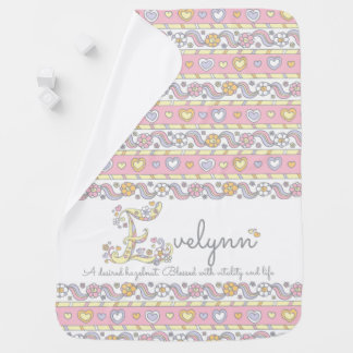 Evelynn name and meaning hearts baby blanket
