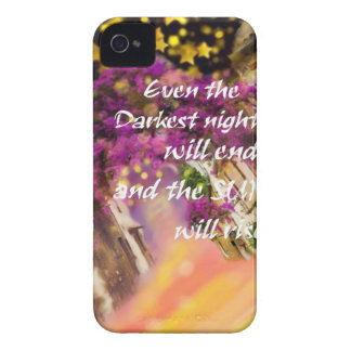 Even in the darkest moment faith is not lost Case-Mate iPhone 4 cases