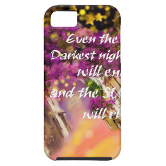 Even in the darkest moment faith is not lost iPhone 5 case