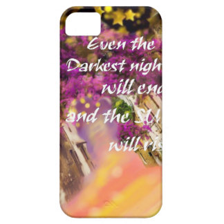 Even in the darkest moment faith is not lost iPhone 5 cover