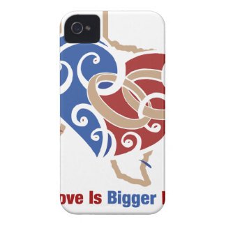 Even Love Is Bigger In Texas Case-Mate iPhone 4 Case