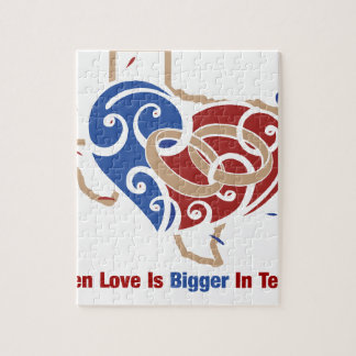 Even Love Is Bigger In Texas Puzzle