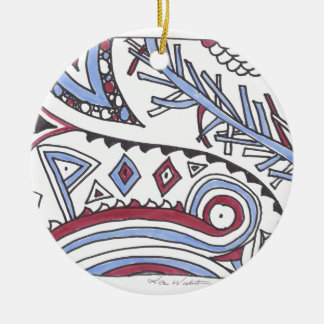 even more april doodles christmas ornaments