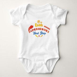 Even Superheroes Need Sleep Baby Bodysuit