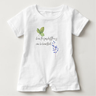 Even the simplest things. baby romper