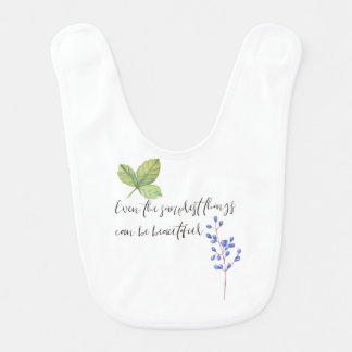 Even the simplest things. bib