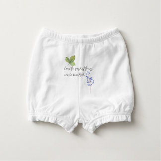 Even the simplest things. diaper cover
