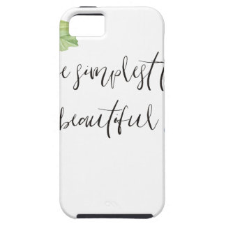 Even the simplest things. iPhone 5 cases