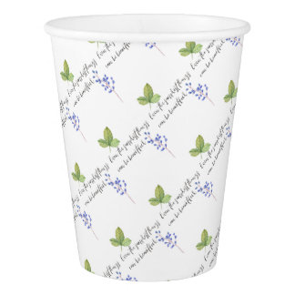 Even the simplest things. paper cup