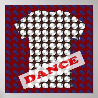 Événement de pièce de partie de Dance Floor - Poster