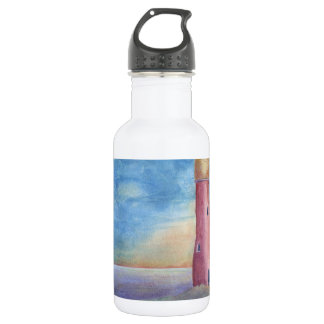 Evening at the lighthouse 532 ml water bottle