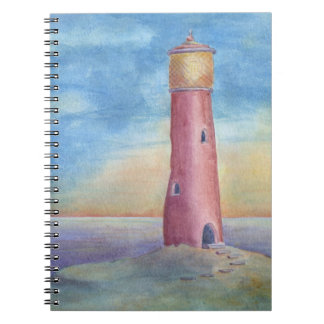 Evening at the lighthouse notebook