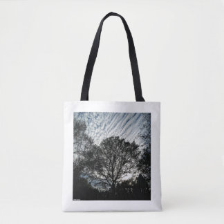 """""""Evening at the Park"""" by Pablo A. Cuadra Tote Bag"""